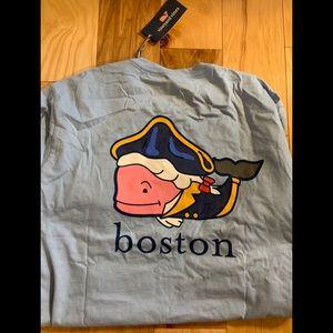 Vineyard Vines Boston long sleeve tee L